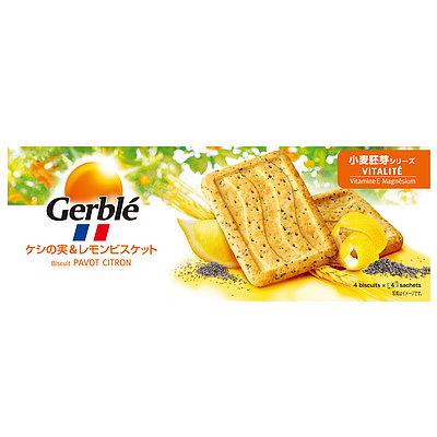 ジェルブレ バイタリティ ケシの実&レモン 200g(16枚)×6箱