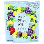 千年屋 ひとくち寒天ゼリー 葡萄&檸檬 170g×3個