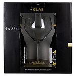 ベルギー キュベ デュ シャトー グラスセット 330ml×4本