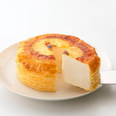 【お取り寄せ】 【W】 カサネオ(casaneo) ミルクレープはじまり 12cm   沖縄・離島配送不可