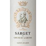 フランス ボルドー サン・ジュリアン 2020 サルジェ ド グリュオー ラローズ 750ml | 2020年プリムールワイン
