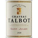 フランス ボルドー サン・ジュリアン 2020 CH タルボ 750ml | 2020年プリムールワイン