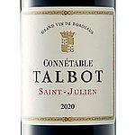 フランス ボルドー サン・ジュリアン 2020 コネタブル ド タルボ 750ml | 2020年プリムールワイン