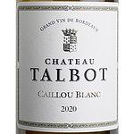フランス ボルドー サン・ジュリアン 2020 カイユ ブラン ド CH タルボ 750ml | 2020年プリムールワイン