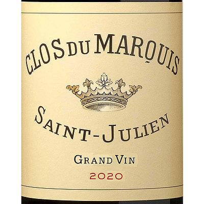 フランス ボルドー サン・ジュリアン 2020 クロ デュ マルキ 750ml   2020年プリムールワイン
