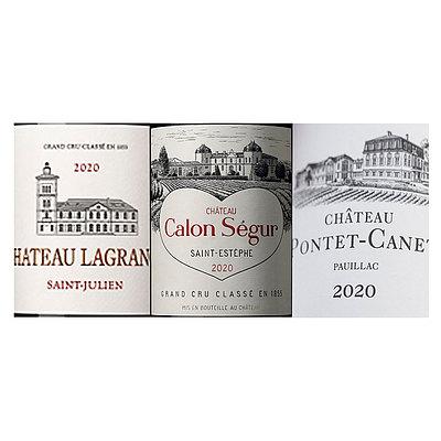フランス ボルドー 2020 成城石井人気ワイン3本セット 750ml×3本   2020年プリムールワイン