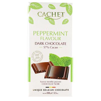 カシェ ダークチョコレート ペパーミントクリスプ 100g