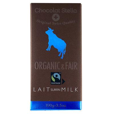 ステラ 有機フェアトレードミルクチョコレート 100g